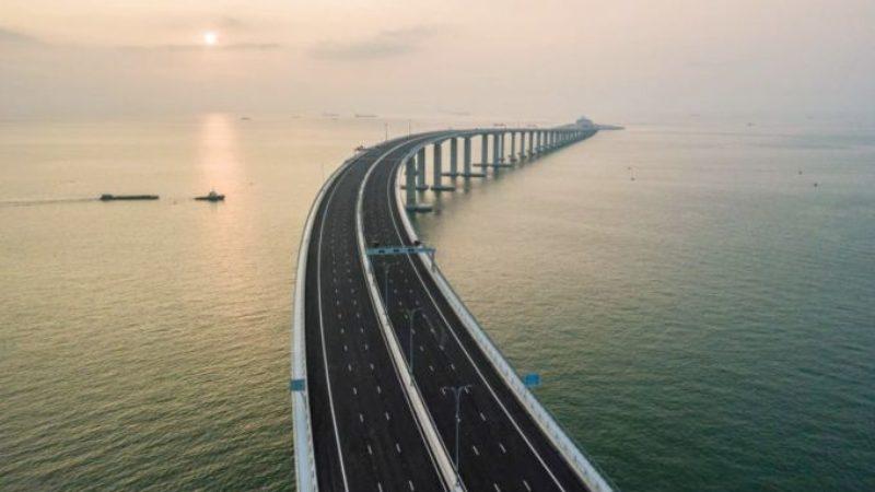 China opens world's longest sea-bridge: Facts & Figures
