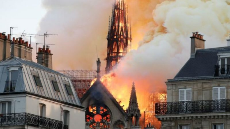 Fire devastates iconic Notre-Dame Cathedral in Paris